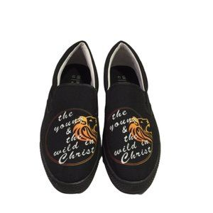 The Young in Christ Size 12 Men's Black Shoes